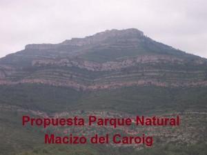 MACIZO DEL CAROIG propuesta parque natural